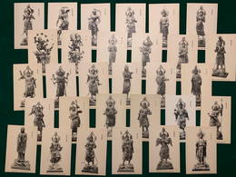 Japan, Serie One National Treasures, 1900-1910's, 30 Postcards - Japon