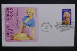 ETATS UNIS - Enveloppe FDC 1995 -  Marilyn Monroe - L 24158 - Premiers Jours (FDC)