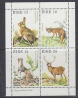 Ireland 1980 Fauna & Flora M/s ** Mnh (42048) - Blokken & Velletjes