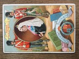 CHROMO CHOCOLAT SUCHARD S48 Rulers Of Europe Reine Victoria Angleterre - Suchard