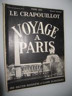 1931 Le CRAPOUILLOT Voyage à Paris  Mars 1931 - Books, Magazines, Comics