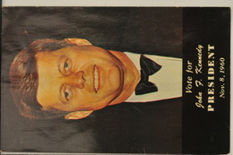 John F. Kennedy 1960 Campaign Post Card - Original ! - Présidents