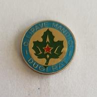"OLD CROATIA BOY SCOUT UNIT ODRED IZVIĐAČA ""PAVE MANDIĆ"" DUGI RAT PIN BADGE BROCHE DISTINTIVO INSIGNE - Scoutisme"
