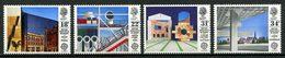 Gd Bretagne 1987 N° 1266/1269 ** Neufs  MNH Superbes C 7 € Europa Architecture Faber Foster Centre Pompidou Piano Lasdun - Nuovi
