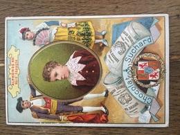 CHROMO CHOCOLAT SUCHARD S48 Rulers Of Europe Roi Espagne Alphonse XIII - Suchard
