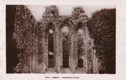 AS27 Inch Abbey, Downpatrick - RPPC - Down