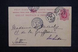 JERSEY - Entier Postal De Jersey Pour La France En 1908 - L 24168 - Jersey