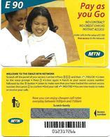 @+ Swaziland - MTN - E90 - Femmes - Swaziland