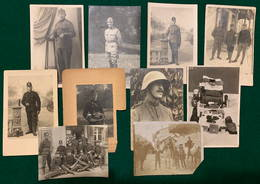 10 Cartes Postales Photographiques Militaires Suisses - Guerre 1914-18