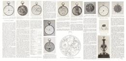 """LES MONTRES De  """" BREGUET  """"   1923 - Jewels & Clocks"""