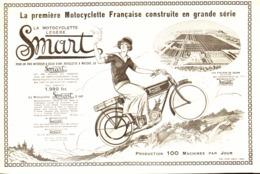 """PUB MOTOCYCLETTE LEGERE  """" SMART  """"    1923  (1) - Motos"""