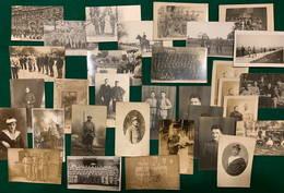 32 Cartes Postales Photographiques Militaires Français - Guerre 1914-18