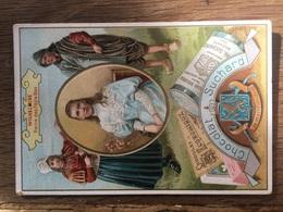 CHROMO CHOCOLAT SUCHARD S48 Rulers Of Europe Wilhelmine Reine Pays Bas - Suchard