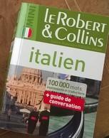 Mini Dictionnaire Robert & Collins Italien- Français Et Français -Italien - Dictionnaires