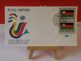 Nations Unies > Office De Genève - Afghanistan - 18.9.1987 - FDC 1er Jour - FDC