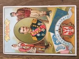 CHROMO CHOCOLAT SUCHARD S48 Rulers Of Europe Alexandre Roi Serbie - Suchard