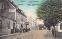 Zerkow Poln.Schweiz Miloslawerstr. Polska Szwajcarya Ul.Miloslawska Feldpost - Pologne