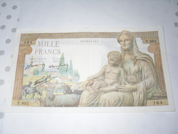 Billet De 1000 Frs - Unclassified
