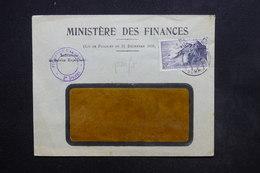 FRANCE - Pointe Du Raz Perforé SG Recollé Sur Enveloppe - L 24185 - Perforés
