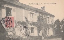CPA  91 SACLAS HAMEAU DE GRENET - France
