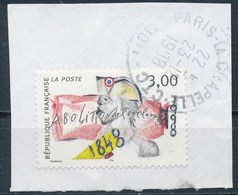 France - Abolition De L'esclavage YT 3148 Obl.sur Fragment - France