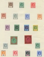 BRITISH COMMONWEALTH Valuable M Collection In Eight Albums Virtually All In Complete Sets (mostly KGVI & Early QEII) Plu - Non Classés