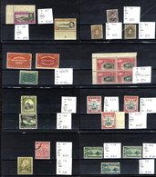 BRITISH COMMONWEALTH Ex-dealer's Stock Of M & U Stamps Housed On 333 Black Stock Cards In Four Display Albums, All Perio - Non Classés