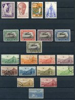 WORLD AIR STAMPS Collection Of M & U Stamps Housed In Two Large Black Page Stock Book From Afghanistan To Yugoslavia Inc - Non Classés