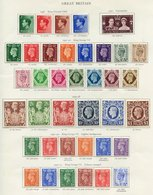 BRITISH COMMONWEALTH KGVI Fine M Collection Incl. Gilbert & Ellice Complete Incl. Extra Shades, Gold Coast Complete Incl - Non Classés