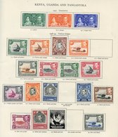 BRITISH COMMONWEALTH KGVI M Collection Housed In The Printed Album, Mainly Incomplete Sets. Noted - Full Sets Of Aden 19 - Non Classés
