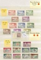 BRITISH COMMONWEALTH KGVI Good/fine Used - Malta 1938 To 10s, 1948 To 10s, Nigeria 1938 To 5s (5), Southern Rhodesia 193 - Non Classés