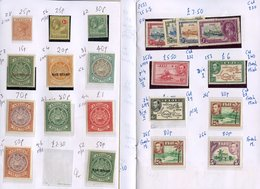 CLUB BOOKS Remaindered Circulated Books (17) With British Commonwealth Ranges M Or U (all Periods). Priced To Sell At £7 - Non Classés