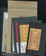 FOREIGN MISCELLANEOUS M & U Accumulation Incl. Germany Booklets, Switzerland Airs, Albania, Lithuania, France, Hungary,  - Non Classés