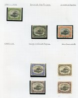 BRITISH COMMONWEALTH  M & U Collection Housed In Four Spring Back Albums, Three Albums Covering Countries Aden To Zanzib - Non Classés