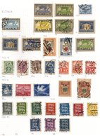EUROPE M & U Collection Of Approx 1650 Stamps Housed In Two Exeter Albums With Baltic States, Papal States, Montenegro,  - Non Classés