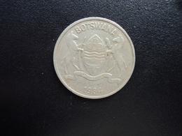 BOTSWANA : 25 PULA   1984   KM 6   TTB - Botswana