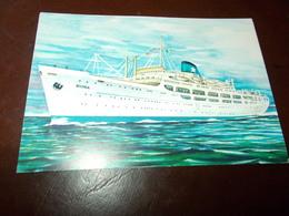 B718   Nave Flotta Lauro Non Viaggiata - Barche