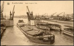 LAEKEN :   Bassin Vergote Et Le Pont - Laeken