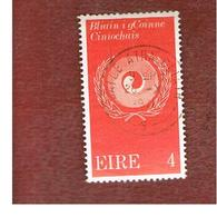 IRLANDA (IRELAND) -  SG 307  -    1971 RACIAL EQUALITY YEAR   - USED - 1949-... Repubblica D'Irlanda