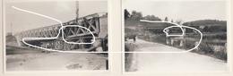 JL 1 Mai 40 Ponts Sur La Sambre Lobbes Ou Solre Destruction Et Reconstruction Repros - 1939-45