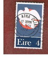 IRLANDA (IRELAND) -  SG 315  -    1972 PATRIOT DEAD '22-'23   - USED - 1949-... Repubblica D'Irlanda