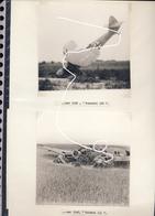 JL 1 Mai 1940 Belgique Luftwaffe Avions Abattus Aviation Henschel Hs 126 Et Heinkel He 111 Repros - 1939-45