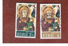 IRLANDA (IRELAND) -  SG 320.321  -    1972 CHRISTMAS   - USED - Usati