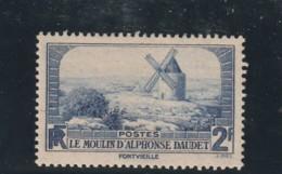 ///   FRANCE -1936 -  N° 311 Côte 6€ MOULIN DE DAUDET - France