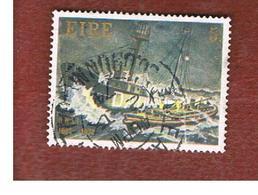 IRLANDA (IRELAND) -  SG 336  -    1974  R.N..L.I., SHIP  - USED - 1949-... Repubblica D'Irlanda