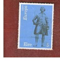 IRLANDA (IRELAND) -  SG 337  -    1974  EUROPA: E. BURKE  - USED - 1949-... Repubblica D'Irlanda