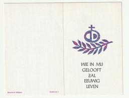 Doodsprentje Aloïs LUYTEN Aalmoezenier Aarschot 1906 Priester Westerlo Vorst-Meerlaar Turnhout 1972 - Andachtsbilder