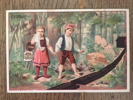 CHROMO CHOCOLAT SUCHARD S27 1892 Hansel Gretel Perdus En Forêt - Suchard