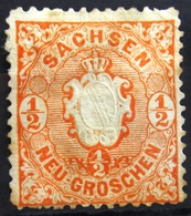 ALLEMAGNE Saxe               N° 14                 NEUF SANS GOMME - Saxony