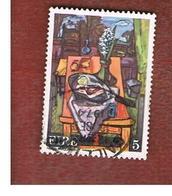 IRLANDA (IRELAND) -  SG 362  -    1974  IRISH ART: PAINTING  - USED - 1949-... Repubblica D'Irlanda